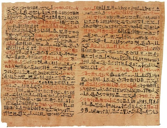Vedeževanje s pomočjo egipčanske tablice